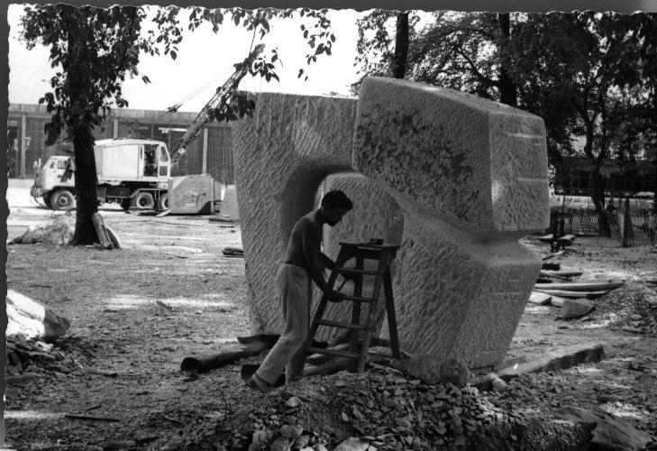 premier symposium fran ais de sculpture. Black Bedroom Furniture Sets. Home Design Ideas