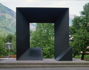 """Monoforme 26"", 1988, de Gottfried HONEGGER"